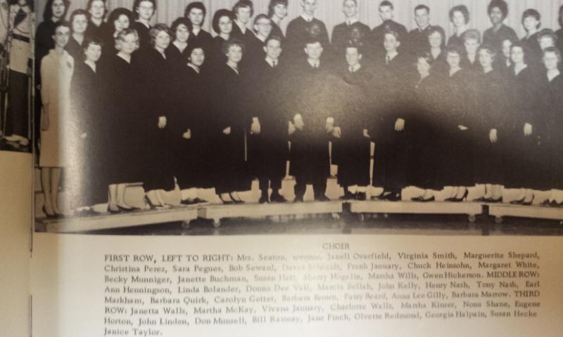 #72 1964 PHS CHOIR