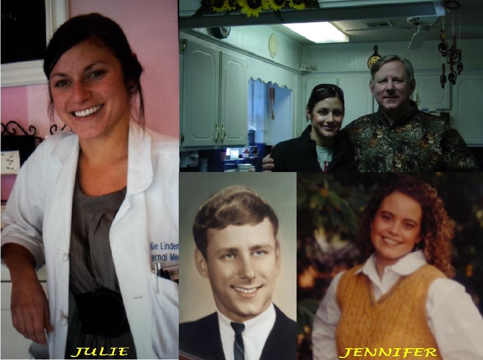 #165 DR. JULIE LINDEN WAS VARSITY CHEERLEADER FOR 3 YEARS AT MUSKOGEE HIGH SCHOOL, HEAD CHEERLEADER, SOCCER PLAYER THRU MHS & 4 YEARS OF COLLEGE & RAN THE SAN FRANCISCO MARATHON WITH HER DR. HUSBAND IN 2013