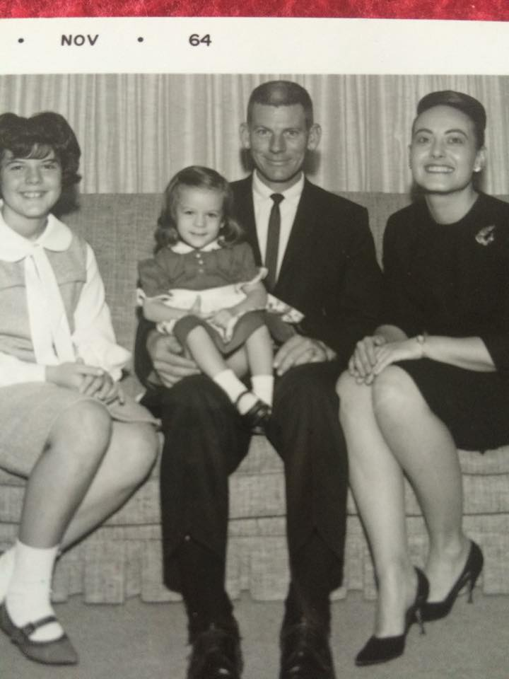 #182 PARSONS VETERINARIAN TOM CRISPELL, WIFE PHYLIS, BECKY AND LITTLE CAROL