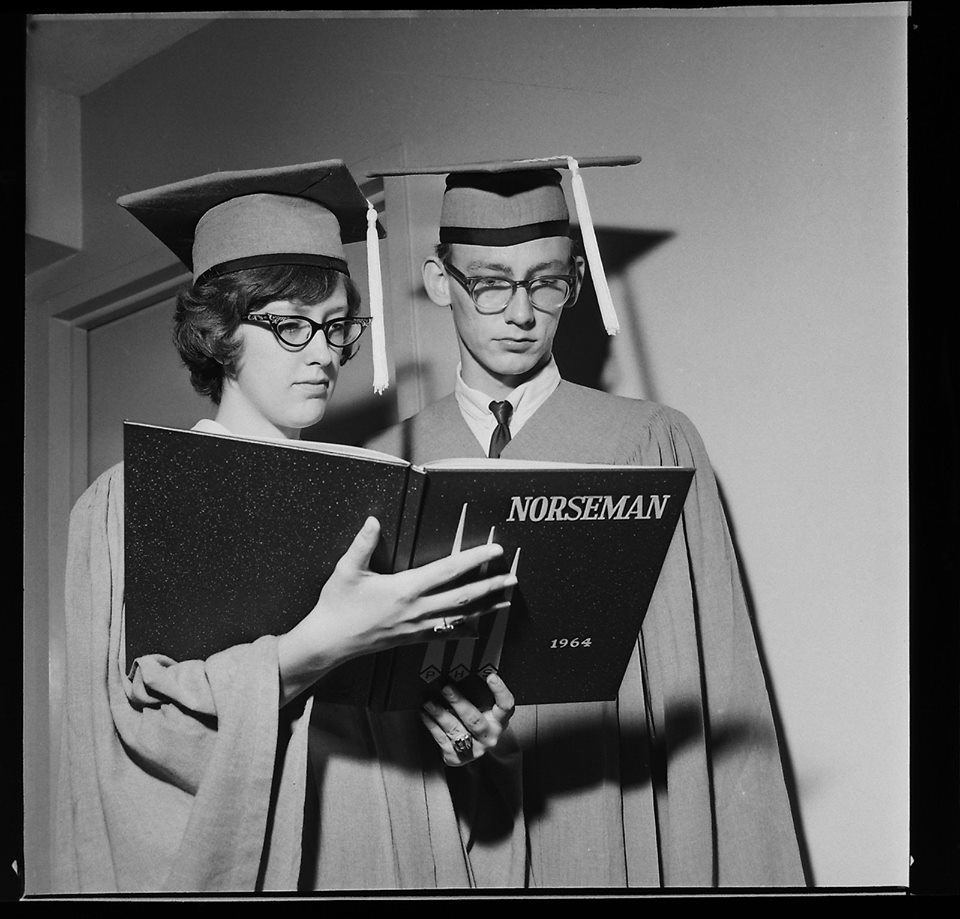 #12 JANICE LAMB & JERRY JOESPH PHS 64 GOT MARRIED - SEE THE ENTIRE 63,64,65 YEARBOOKS HERE ONLINE