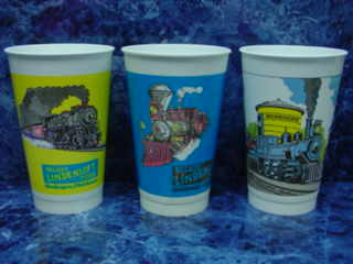 #72 20 OZ. LINDENLOFT CUPS, I HAD TO BUY  A MINIMUM ORDER OF 5000 CUPS ON EACH COLOR, I STILL HAVE MANY OF THESE CUPS