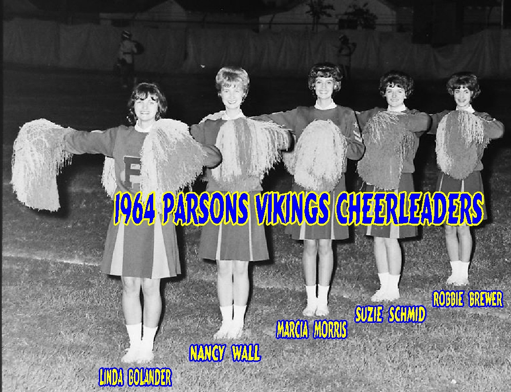 #5 P3 - 1964 VIKING CHEERLEADERS - RULES OF BEGINNING BASKETBALL IN KANSAS IN 1908
