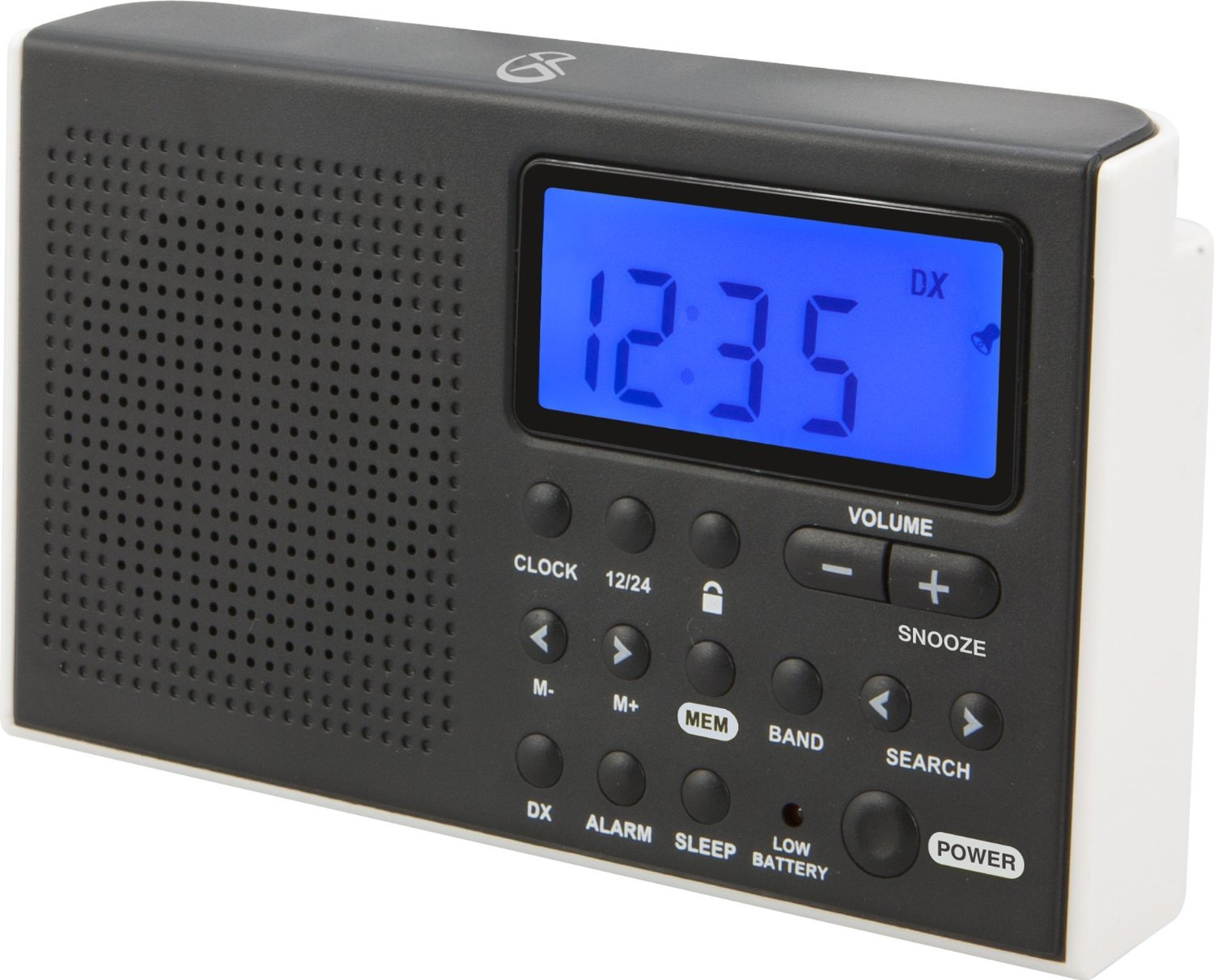 #87 BEAUTIFUL WHITE AM/FM/SW RADIOS WITH BLUE DISPLAY ONLY $17 WITH 2 DAY FREE SHIPPING ON AMAZON PRIME
