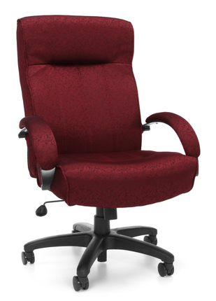 #164 GORGEOUS CLOTH DESK CHAIRS RATED AT 440 LBS