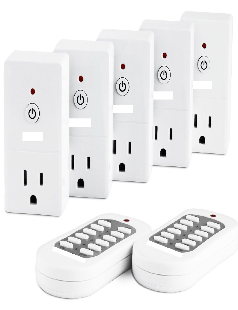 #297 ONE REMOTE CONTROLS 5 LIGHTS OR ROOMS