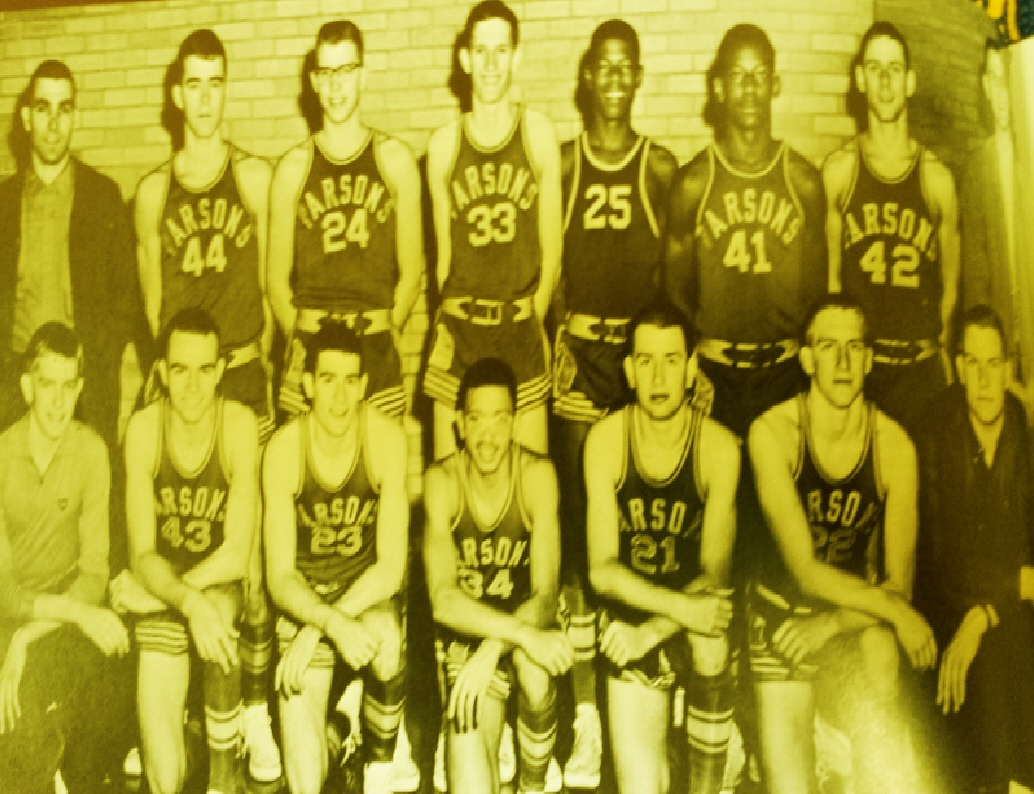 #9 P3 - 1964 PARSONS VIKINGS BASKETBALL & NBA CHAMPIONS 2017 ON BACK