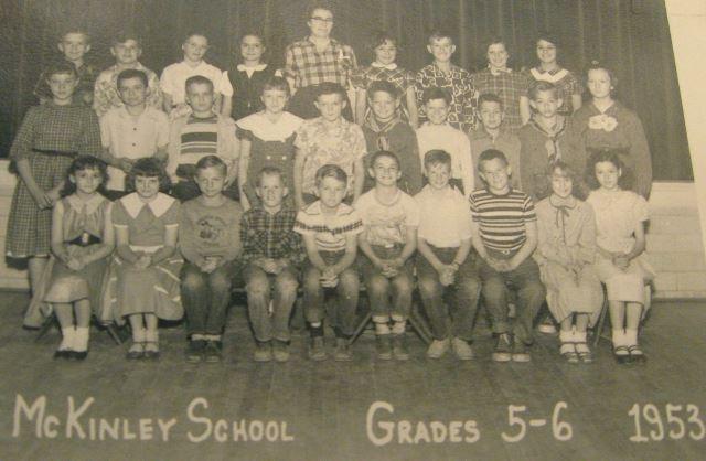 #106 P4 McKINLEY GRADES 5&6 1953 PARSONS, KS