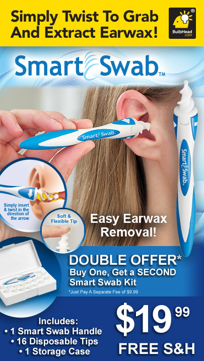 #179 SMART SWAB EARWAX REMOVAL BACK *******UP STUFF*******