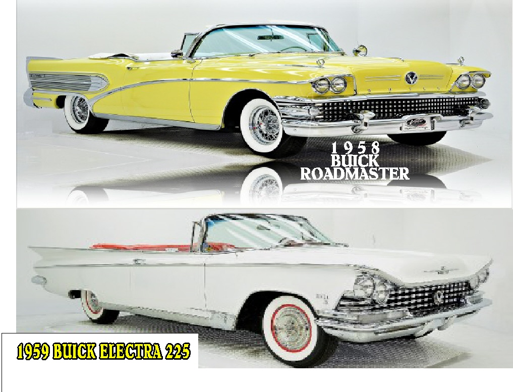 #43 1958 BUICK CLICK ON PICTURE FOR CAR VIDEOS