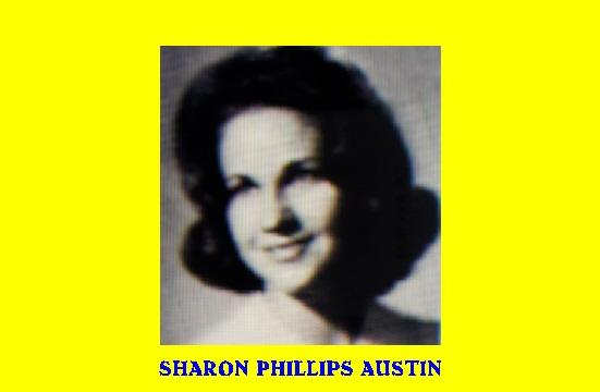 #77 SHARON PHILLIPS AUSTIN 100 SONGS