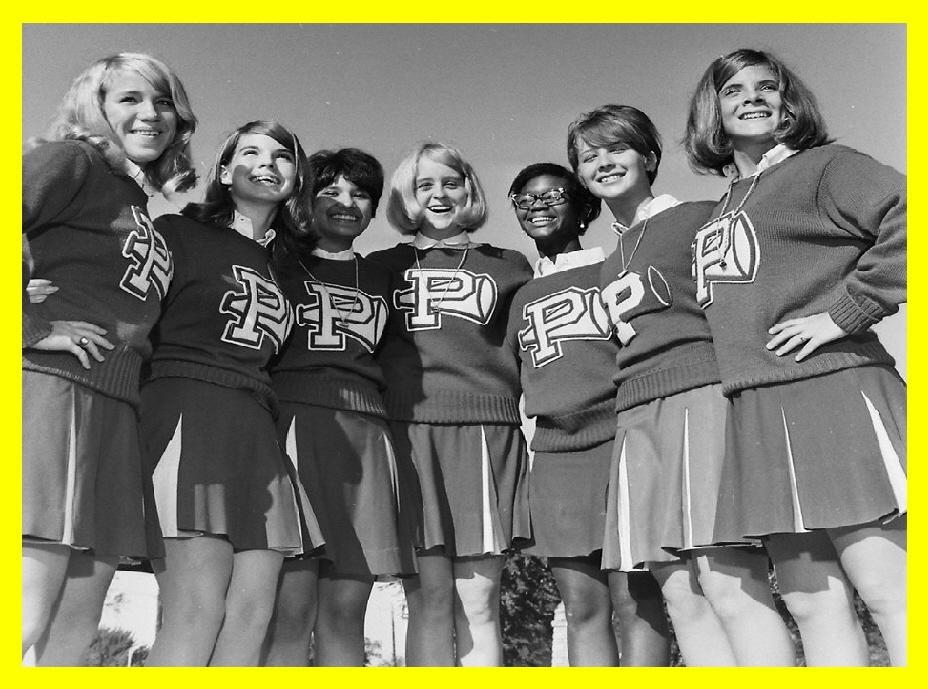 #4 PHS 70/71 CHEERLEADERS