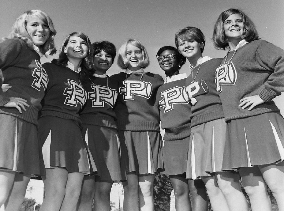 #4 PHS 70/71 CHEERLEADERS