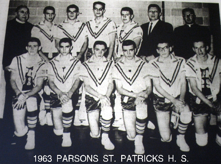#73 P3 St. Pats 62/63 Dr. Jack Finnerty black eye