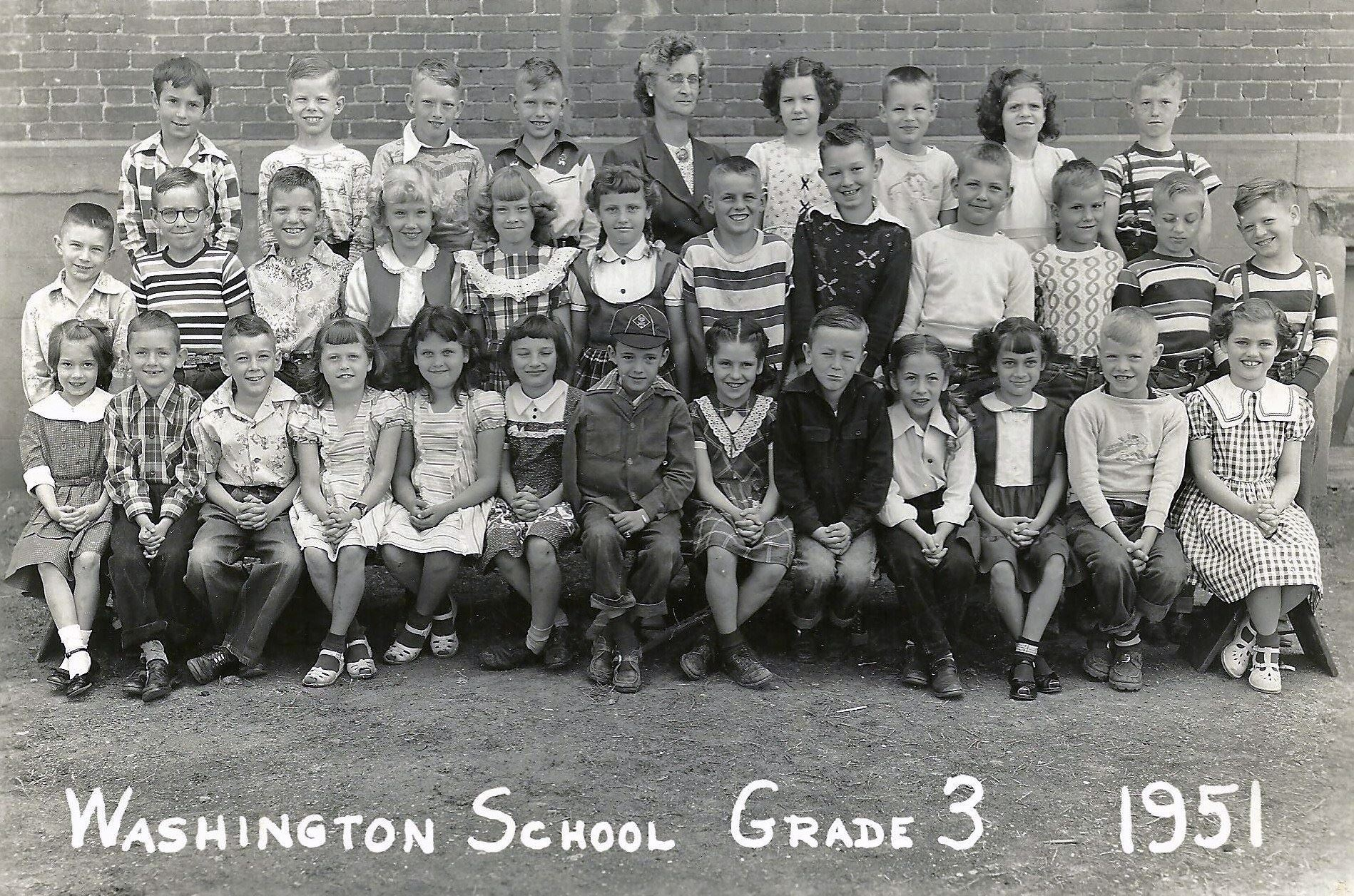 #107 Washington 1951 Grade 3