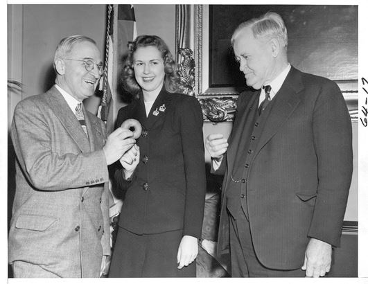 #117 Alice Marie Casey of Parsons, Kansas 1945 Harry Truman nyc