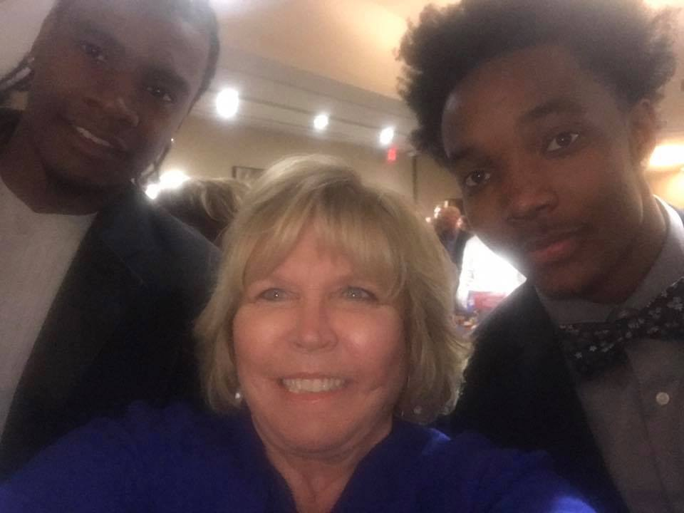 #4 TWO OF THE MOST LOVED KU JAYHAWKS WITH MOST FAMOUS PHS VIKING CYNTHIA SMITH, JOSH JACKSON & DEVONTE GRAHAM