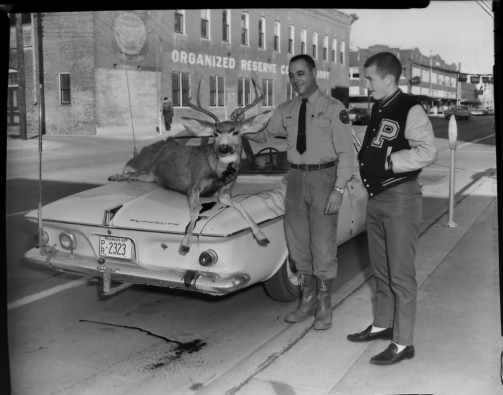 #98 TOMMY CRISPINO & JIM NICHOLS 1963 PARSONS, KS.
