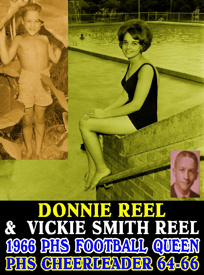 #123 VICKIE SMITH REEL GORGEOUS PARSONS VIKINGS CHEERLEADER, FOOTBALL QUEEN & DONNIE REEL'S WIFE