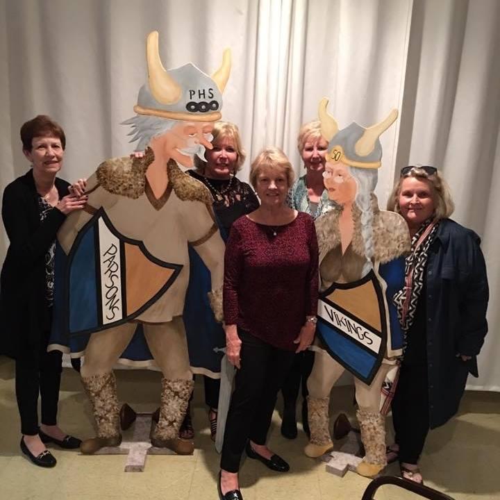 #137 2017 GOLDEN REUNION MARSHA OAKES, CYNTHIA SMITH, MARY LOU SMITH, NANCY WALL, DEE ANN NUNNICK CLASS OF 1964