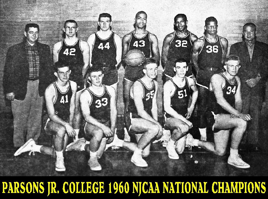 #15 PARSONS J C 1960 NJCAA NATIONAL CHAMPIONS