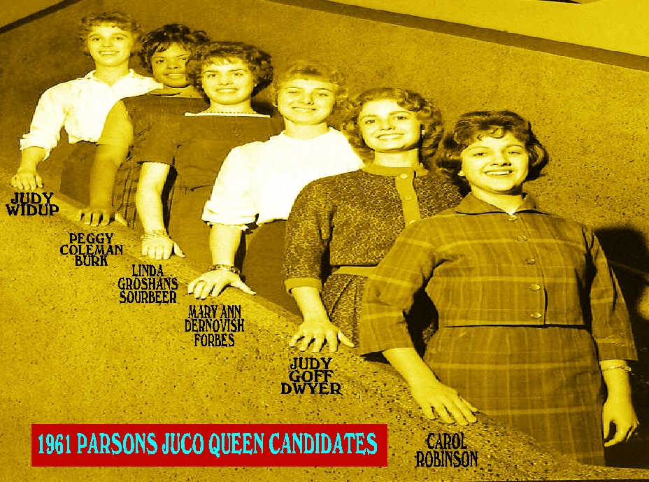 #108 1961 Parsons Jr. College Queen Candidates