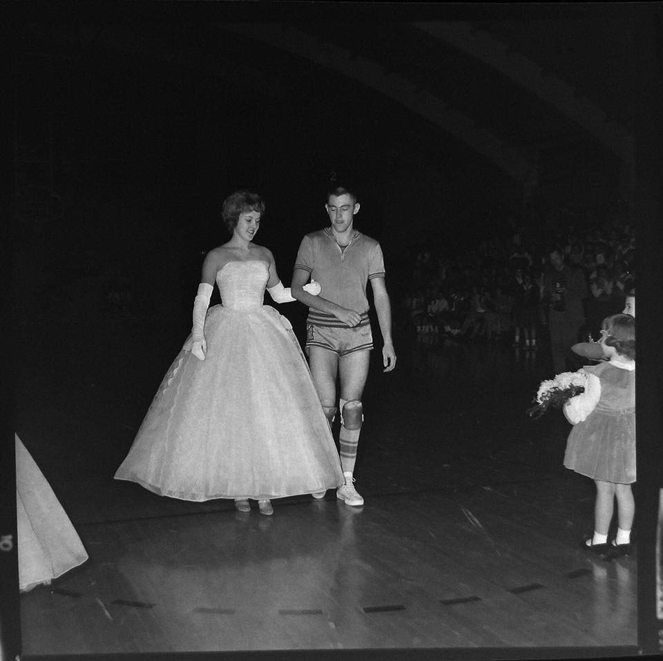 #32 PHS 1963 BB QUEEN MARY JAYNE QUARLES AND TOM VERNER