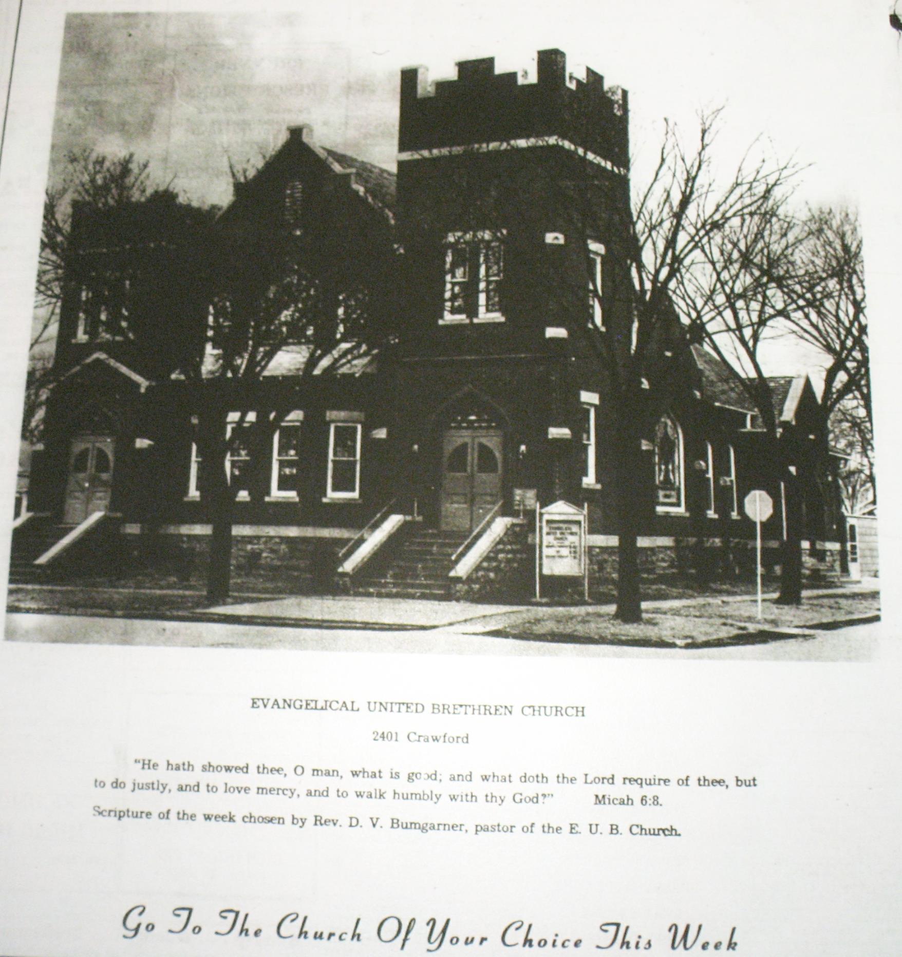 #119 EUB CHURCH, 2401 CRAWFORD