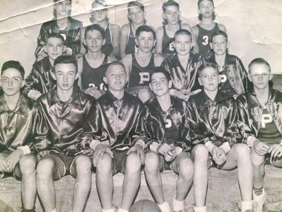 #72 PARSONS JR. HIGH BASKETBALL TEAM 1951/52