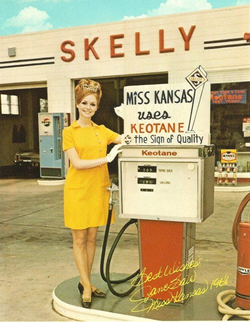 #116 Jane Bair 1968 Miss Kansas from Parsons, SHE BEAT 1st RUNNER UP ROBBIE BREWER, ALSO FROM PARSONS