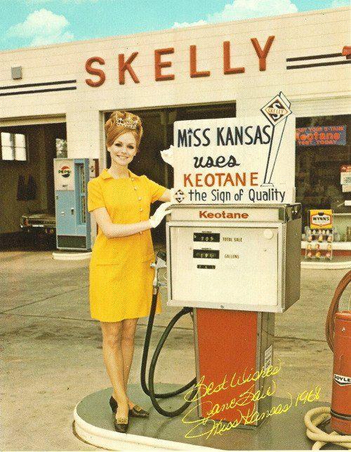 #116 Jane Bair 1968 Miss Kansas from Parsons