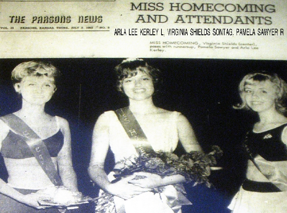 #33 P3 July 1965 PARSONS HOMECOMING QUEEN
