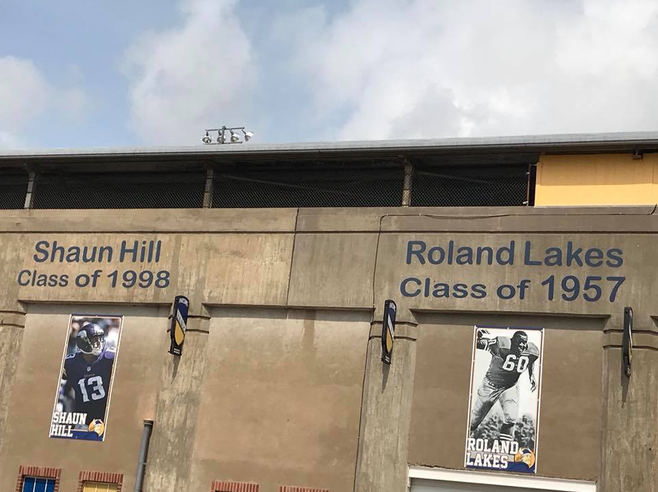 #25 SHAUN HILL GAVE PARSONS H. S. $1,000,000 TO BUILD A NEW FOOTBALL STADIUM