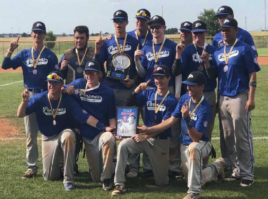 #43 PARSONS STATE CHAMPIONS 7-17-18 Parsons 18's win the Babe Ruth STATE CHAMPIONSHIP against Liberal, Ks.