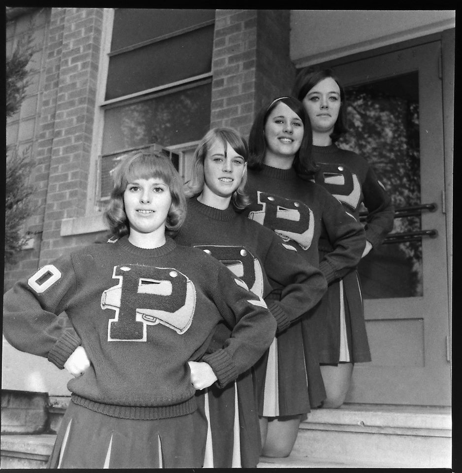#80 ST. PATS CHEERLEADERS 1969