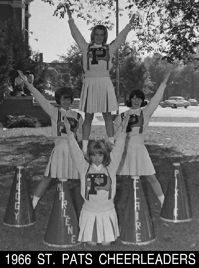 #75 ST. PATS CHEERLEADERS 1966