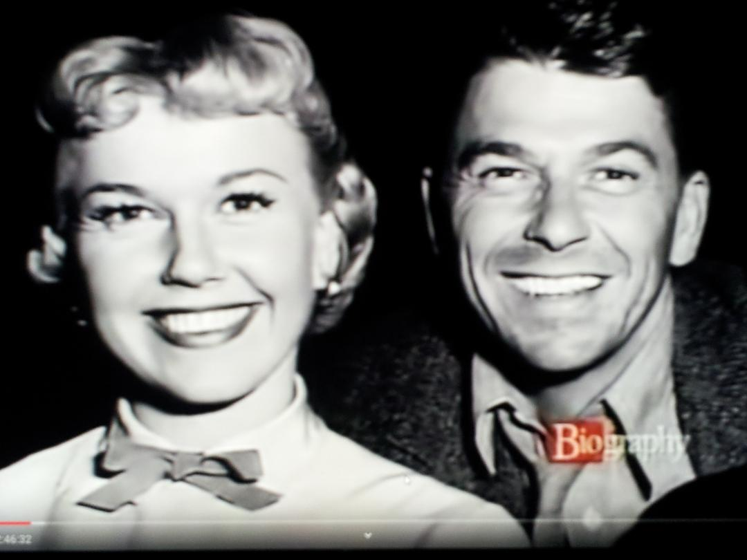 #63 DORIS DAY DATED RONALD REAGAN FOR 1 YEAR AND COULD HAVE BEEN 1st LADY OF THE UNITED STATES - SHE DIED IN 2019 AT 97 YEARS OLD