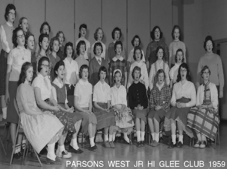 #70  West Jr. Hi 1959  Glee Club