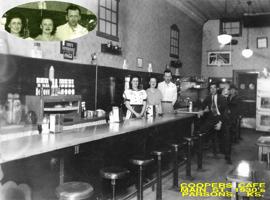 #98 COOPER'S CAFE MAIN ST. 1930's