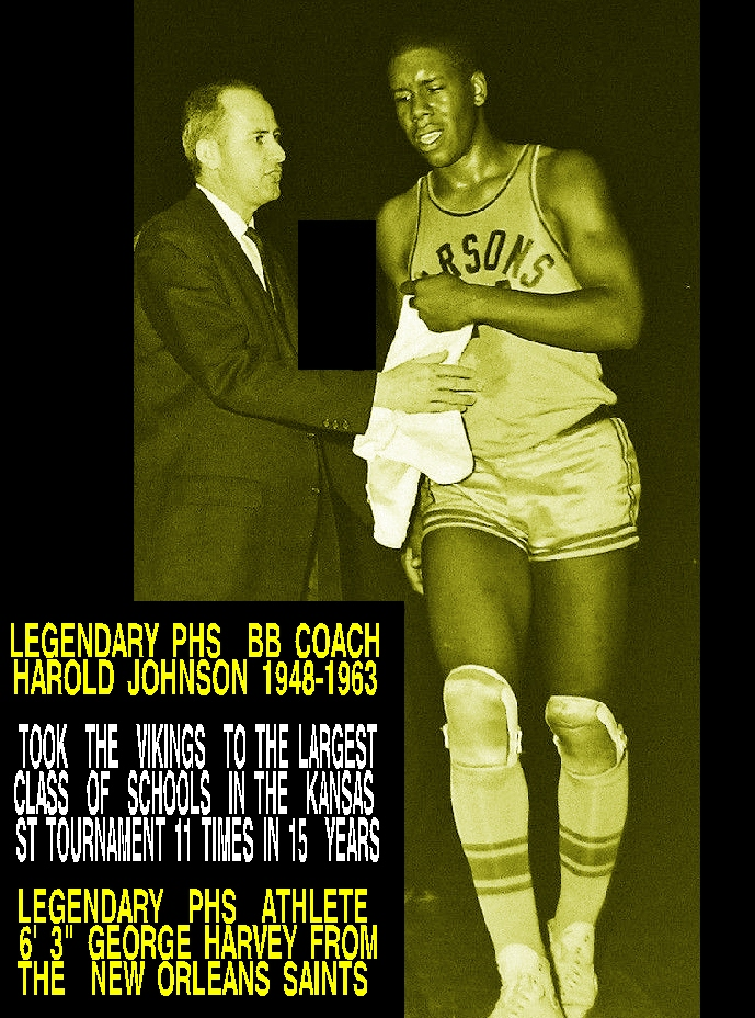 #56 LEGENDARY PARSONS COACH HAROLD JOHNSON AND GEORGE HARVEY