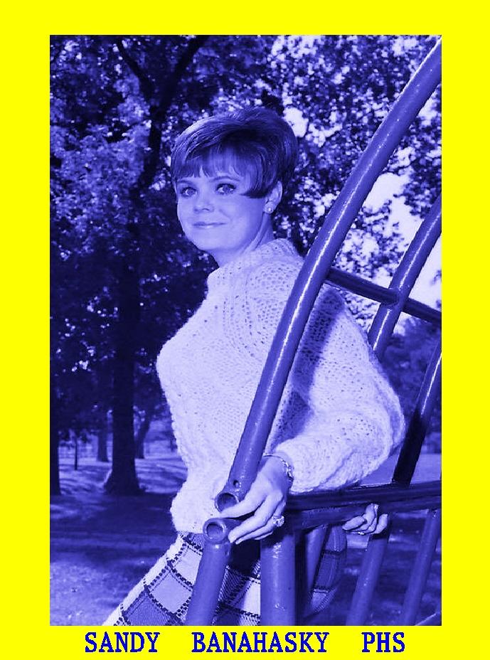 #103 BEAUTIFUL PARSONS H. S. GIRL SANDY BANAHASKY GRANDMA OF CHRIS PONCE
