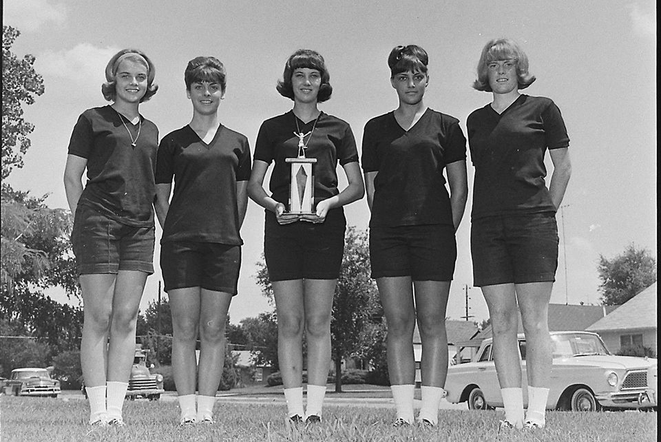 #4 PARSONS VIKINGS CHEERLEADERS 1965