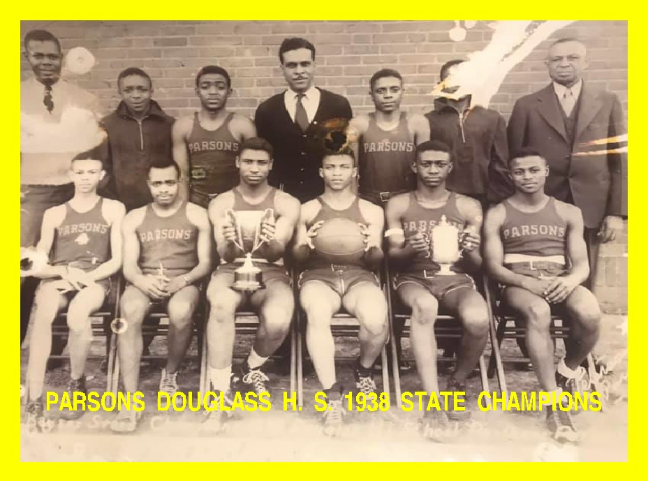 #86 PARSONS DOUGLASS H. S. 1938 STATE CHAMPION BB TEAM