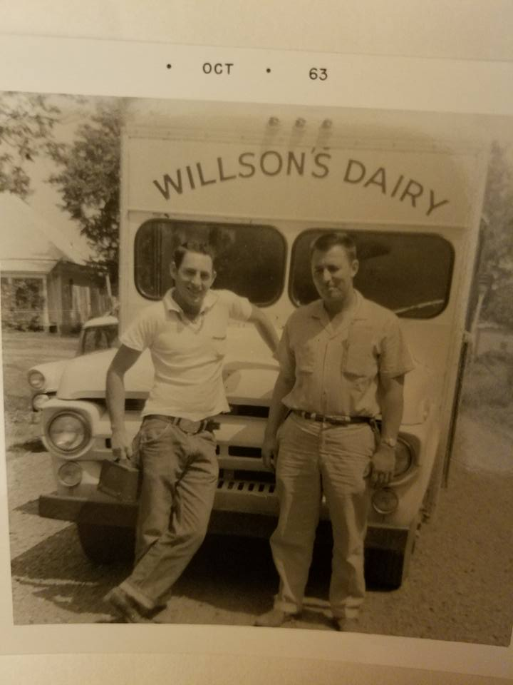 #94 DALE WILLSON R, DELIVERED MILK TO PARSONS IN 1960'S