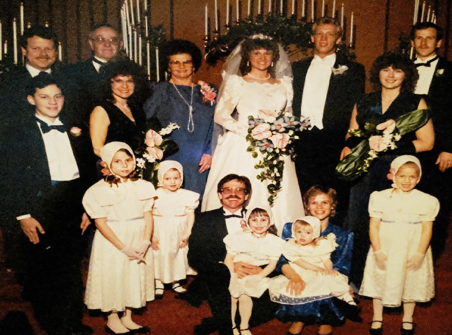 #118 BRENDA PHILLIPS WEDDING TO DR. Bret E Herrman D.C. 1987