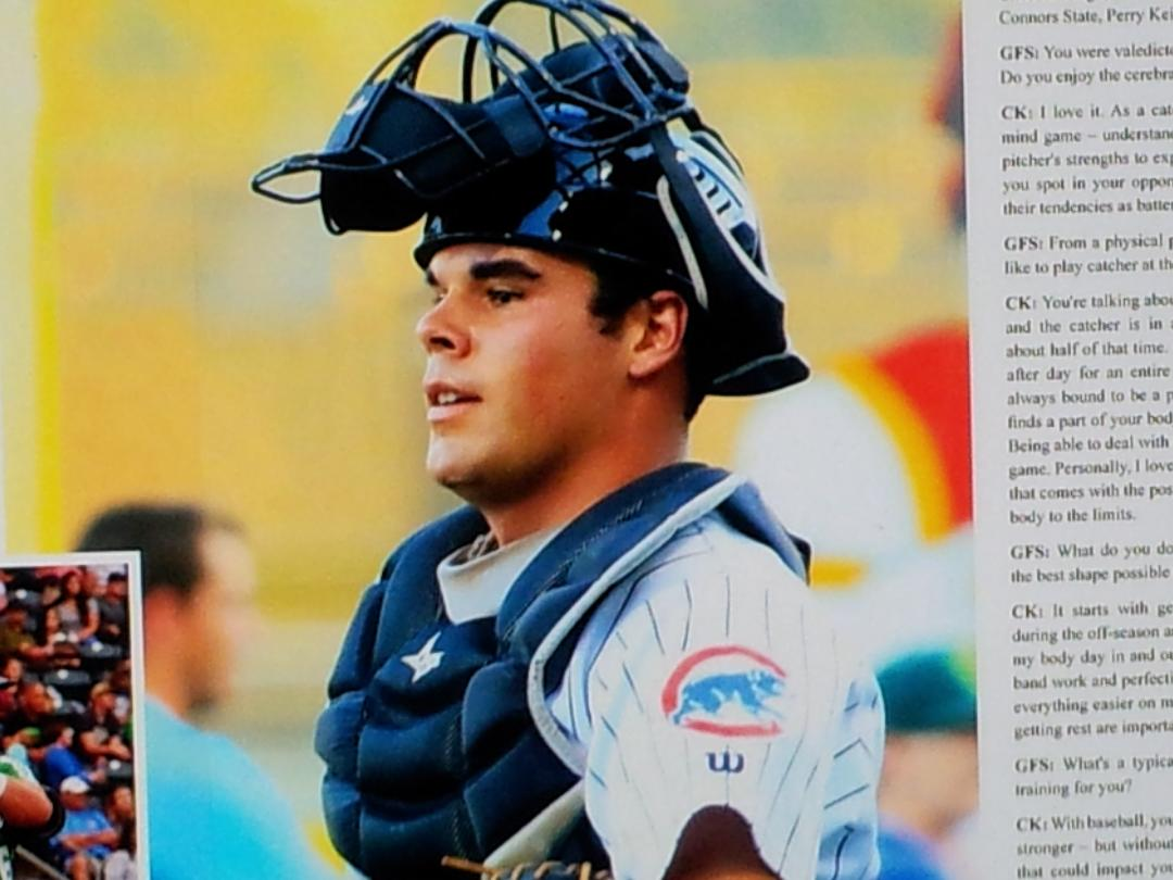 #38 CALEB KNIGHT, JOHNNY LINDEN'S GREAT NEPHEW, CHICAGO CUBS SPRING TRAINING 404 BATTING AVERAGE IN COLLEGE AND PASSED AND RAN FOR OVER 3100 YARDS HIS SENIOR YEAR AT CHS