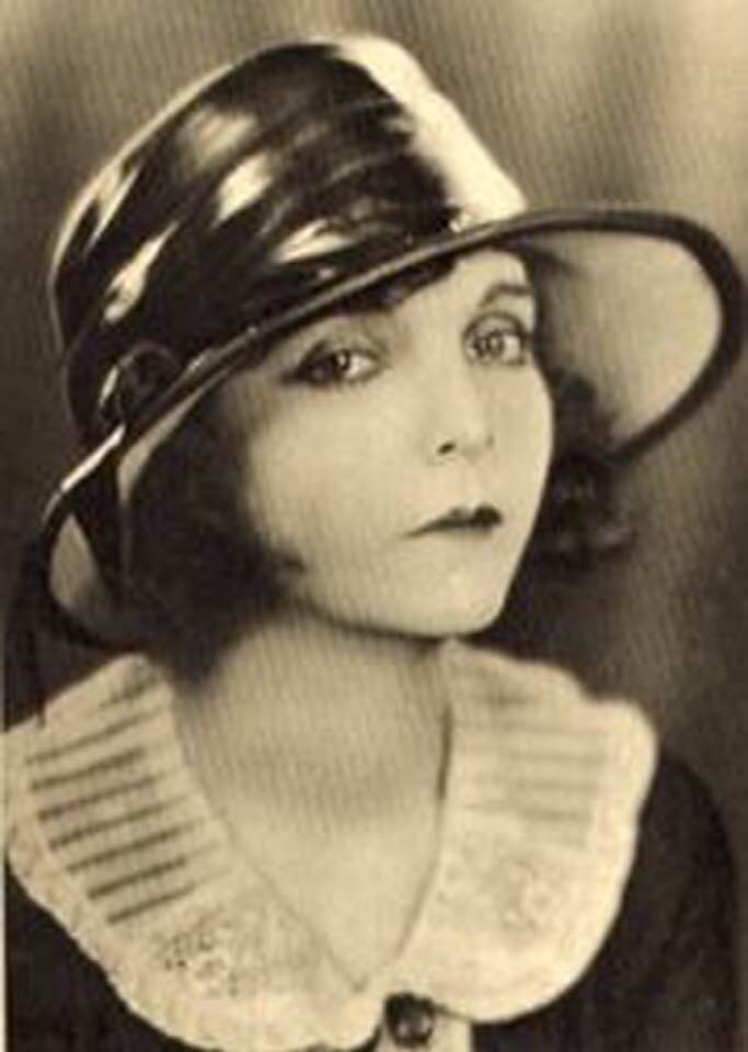 #78 MOVIE STAR ZASU PITTS BORN IN PARSONS IN 1896 & NELLY DON FAMOUS CLOTHING LINE DESIGNER BORN IN PARSONS IN 1889