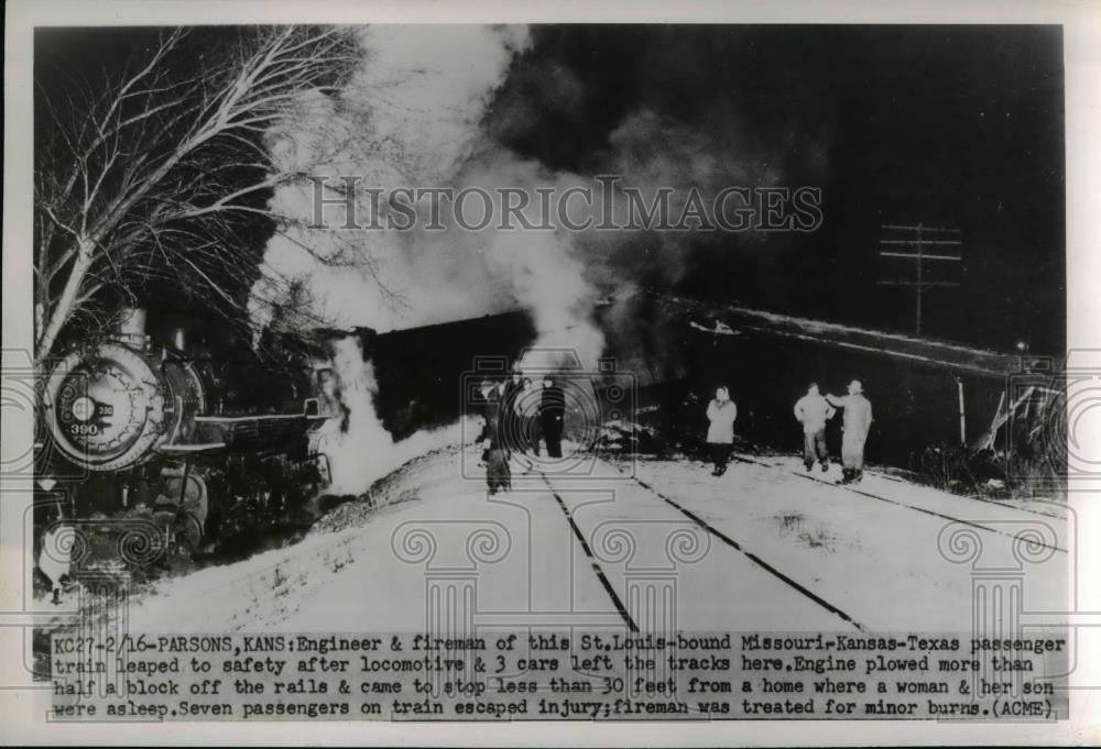 #76 Parsons Train Wreck 1951. CLICK ON THIS PICTURE FOR ALL THE FACEBOOK COMMENTS