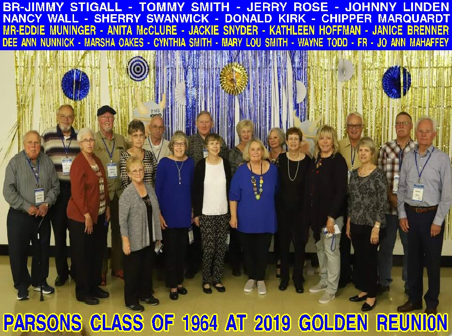 #89 10-4,5,6, 2019 PHS GOLDEN REUNION