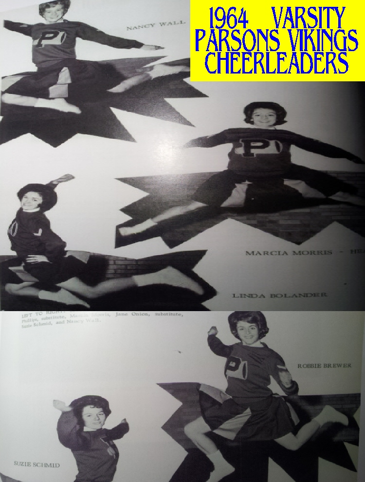 #168 1964  VIKING CHEERLEADERS - RULES OF BEGINNING BASKETBALL IN KANSAS IN 1908 - TONS OF BASKETBALL VIDEOS FROM YESTERDAY