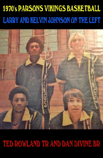 #93 Larry & Kelvin Johnson, TR Ted Rowland, BR Dan Divine 70's Vikings